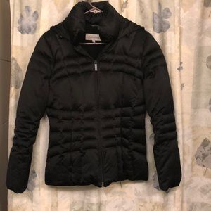 Calvin Klein quilted puff down coat!